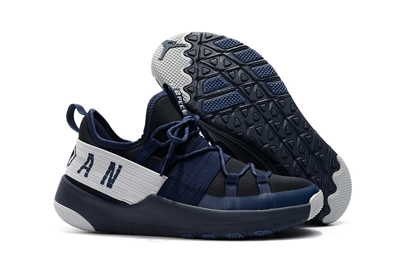2018 Jordan Training Shoes Deep Blue White